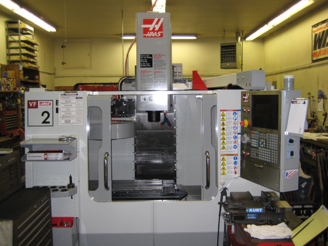 Lathes And Milling Machines. Hass CNC Milling Machine